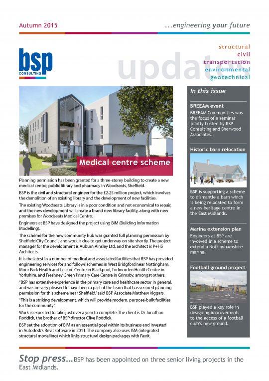 BSP Consulting Autumn Newsletter 2015