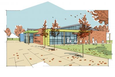 Middleton Primary and Nursery School image courtesy of CPMG Architects