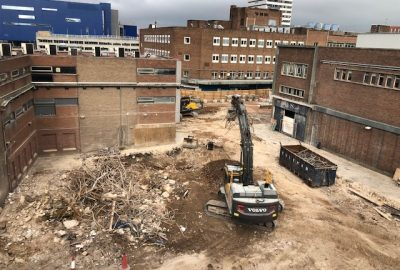 Coventry Tower Block Demolition